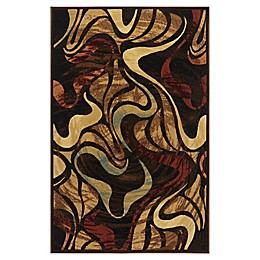 Home Dynamix Catalina Picasso Rug in Brown/Black/Beige