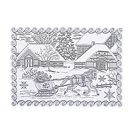 Heritage Lace® Sleigh Ride Placemats in White (Set of 4)