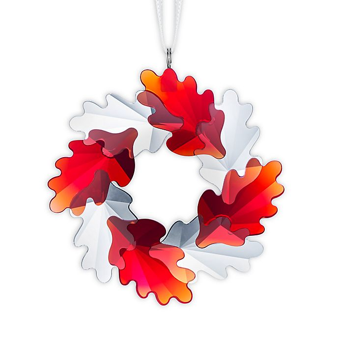 Alternate image 1 for Swarovski® Wreath Christmas Ornament
