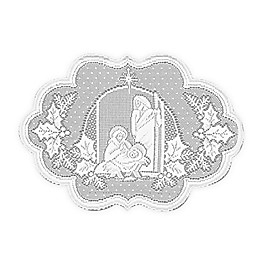 Heritage Lace® Silent Night Placemats in White (Set of 4)