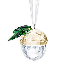 Swarovski® Acorn Christmas Ornament