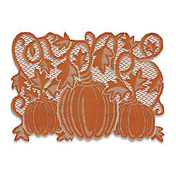 Pumpkin Vine Placemats in Orange (Set of 4)
