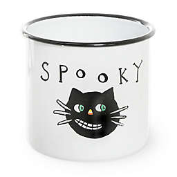 Boston International Spooky Halloween Enamel Canister
