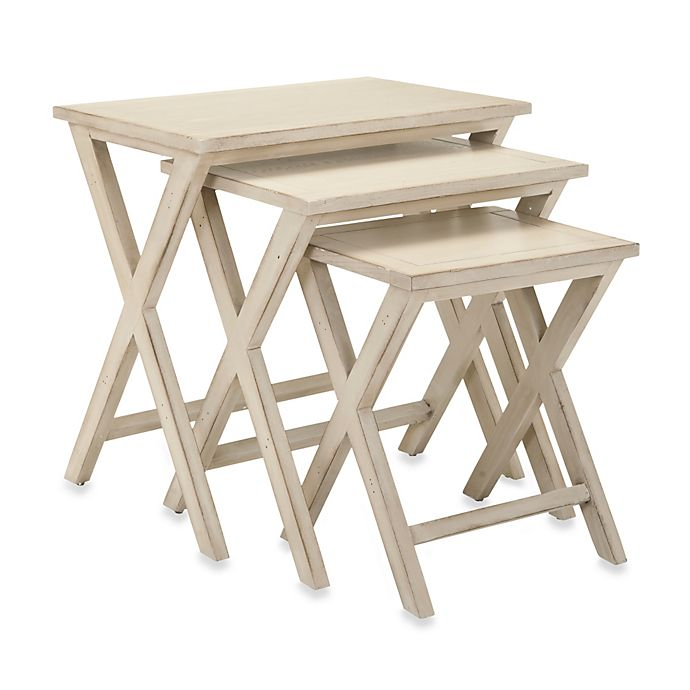 Alternate image 1 for Safavieh Maryann Stacking Tray Tables