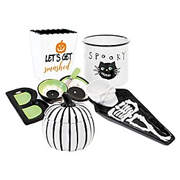 Boston International Halloween Serving Dishes and Accessories Collection