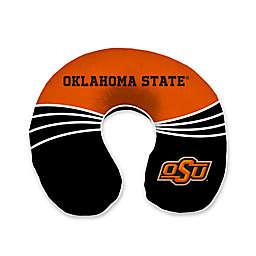 Oklahoma State University Wave Memory Foam U-Neck Travel Pillow