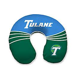 Tulane University Wave Memory Foam U-Neck Travel Pillow