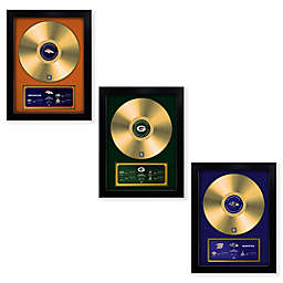 NFL Championship Vinyl Gold Record Wall Art