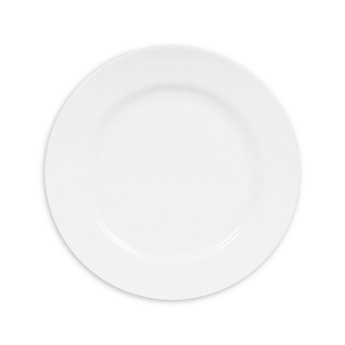 Alternate image 1 for Nevaeh White® by Fitz and Floyd® Rim Salad Plates (Set of 12)