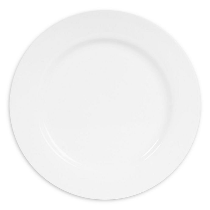 Alternate image 1 for Nevaeh White® by Fitz and Floyd® Rim Dinner Plates (Set of 12)