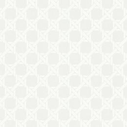 Echo Design™ Trellis Wallpaper Sample in White
