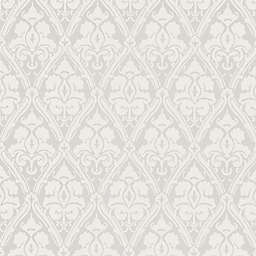 Echo Design™ Damask Wallpaper Sample in Silver