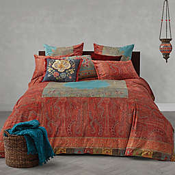 Global Caravan Vintage Paisley Reversible Duvet Cover