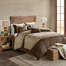 Madison Park Boone 7-Piece Comforter Set in Brown