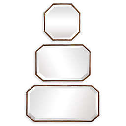 Uttermost Trois Wall Mirror in Gold