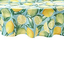 Lemon Grove Round Indoor/Outdoor Tablecloth