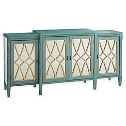 Madison Park Elaine Buffet in Antique Blue/Green