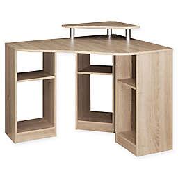 Temahome® Corner Desk in Natural Oak