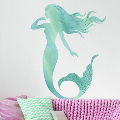 Mermaid Wall Stickers Bed Bath Beyond