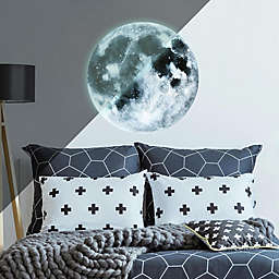 RoomMates® Glow In The Dark Moon Peel & Stick Giant Wall Decals