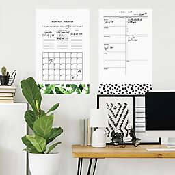 RoomMates® Monthly Planner Dry Erase Peel & Stick Giant Wall Decals