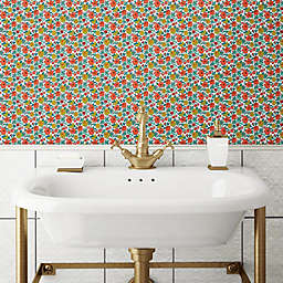 RoomMates® Floral Ditzy Peel & Stick Wallpaper in Red