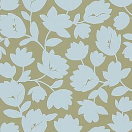 Echo Design™ Freesia Wallpaper Sample in Beige