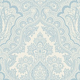Echo Design™ Paisley Wallpaper Sample in Blue