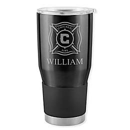 MLS Chicago Fire 30 oz. Etched Stainless Steel Ultra Tumbler