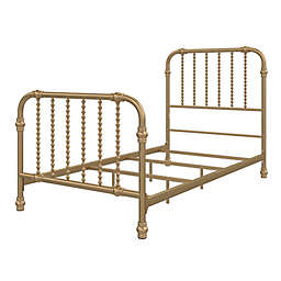 Little Seeds® Monarch Hill Wren Metal Bed in Gold