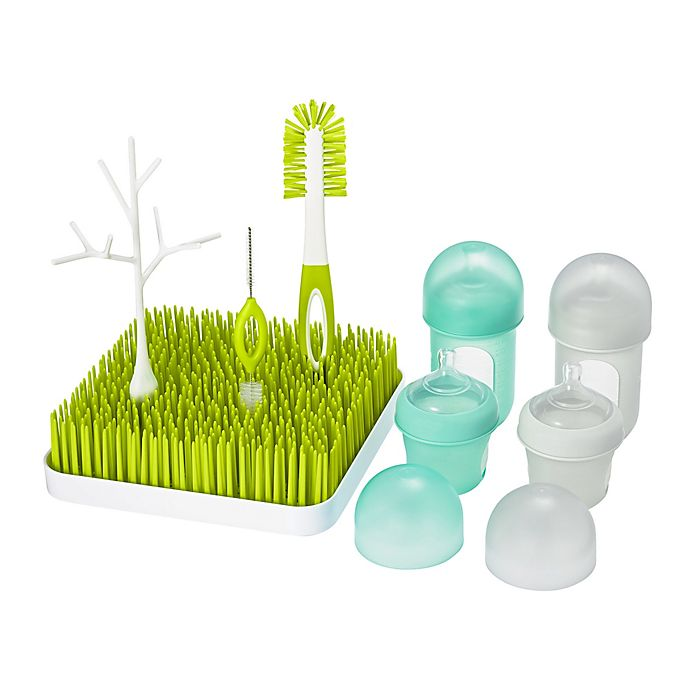 Alternate image 1 for Boon NURSH® BUNDLE™ Bottle Feeding and Cleaning Set