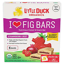 Little Duck 6-Pack Strawberry Beet Fig Bars