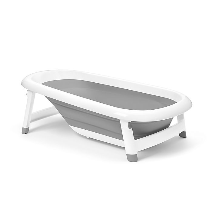 Alternate image 1 for OXO Tot® Splash & Store Bathtub in Grey