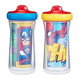 The First Years® Marvel® Family 2-Pack 9 oz. Insulated Hard Spout Sippy Cups
