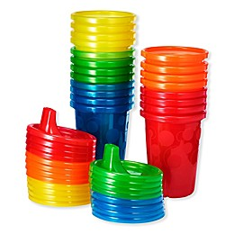 The First Years® 20-Pack 10 oz. Solids Sippy Cups in Rainbow