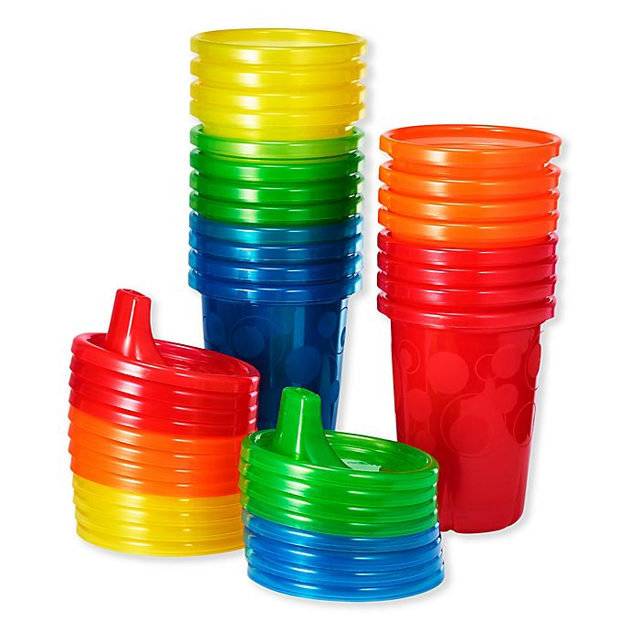 Alternate image 1 for The First Years® 20-Pack Value Set Take & Toss 10 oz. Sippy Cups