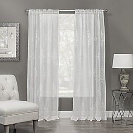 Winston Rod Pocket Sheer Window Curtain Panel