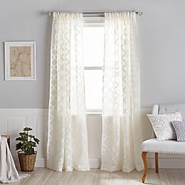 Windsor Sheer Rod Pocket Window Curtain Panel
