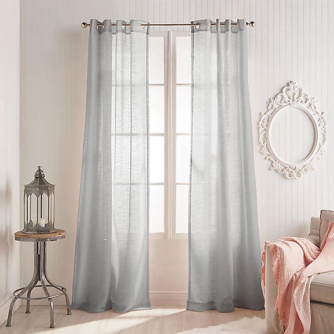 Peri Home Kelly Grommet Window Curtain Panel Bed Bath Beyond