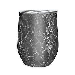Oggi™ Cheers™ Stainless Steel Wine Tumbler in Grey Marble