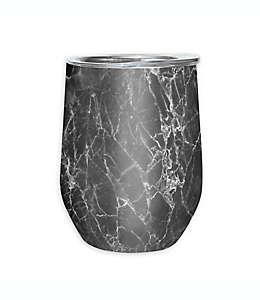 Vaso para vino de acero inoxidable Cheers™ Oggi™ color gris mármol
