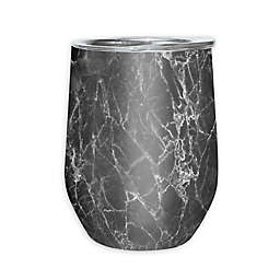 Oggi™ Cheers™ Stainless Steel Wine Tumbler in Grey Marble
