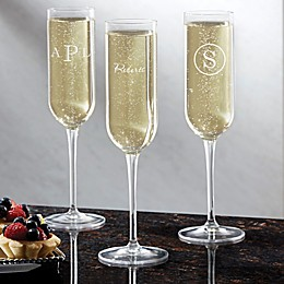 Luigi Bormioli Sublime SON.hyx® Classic Celebrations Personalized Champagne Flute