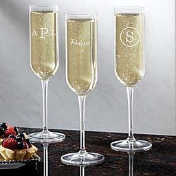 Luigi Bormioli Sublime SON.hyx® Classic Celebrations Personalized Champagne Flute