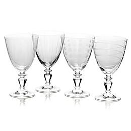 Mikasa® Cheers 11.75 oz. Vintage Goblets (Set of 4)
