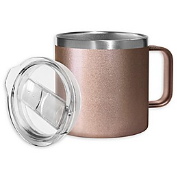 Stainless Steel Covered Coffee Mug