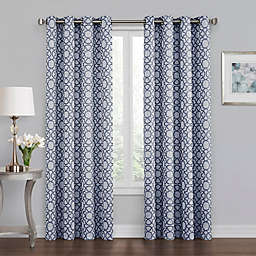 Quinn Grommet 100% Blackout Window Curtain Panel Collection
