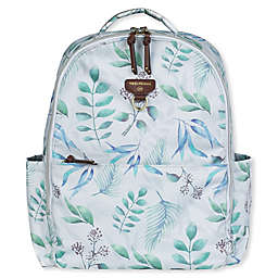 TWELVElittle On-The-Go Diaper Backpack in Leaf Print
