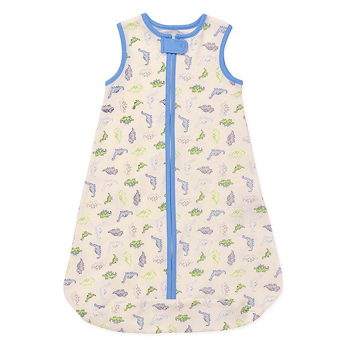 Alternate image 1 for Little Me® Size 6-9M Dino Wearable Blanket in White