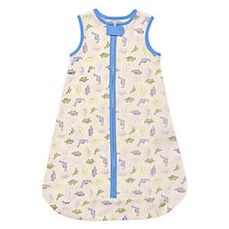 Little Me® Size 6-9M Dino Wearable Blanket in White
